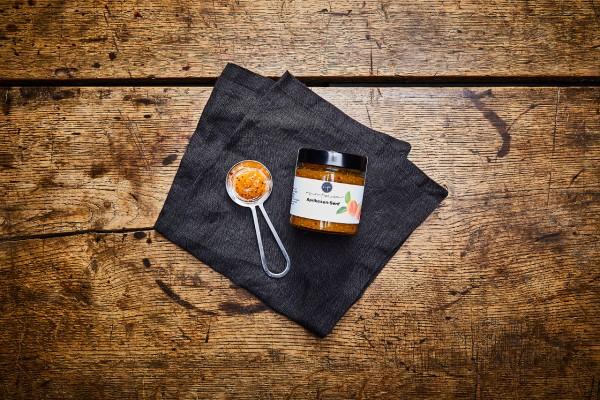 Aprikosen-Senf Sauce