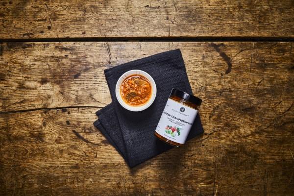Tomaten Champignon Sauce
